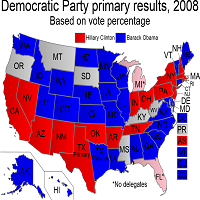 Racism in 2008 Democrat Primaries.