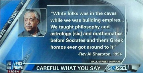 History lesson from a Reverend
