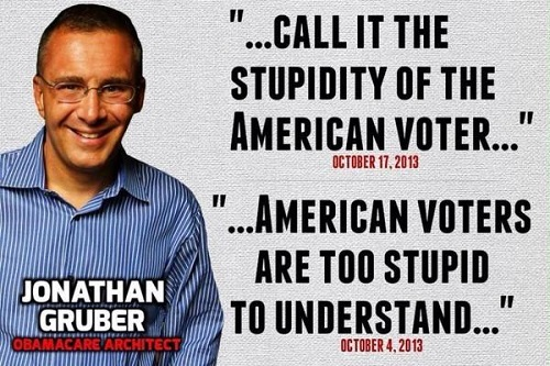 You were too stupid to not keep you mouth shut, Gruber